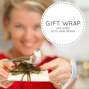 How to gift wrap with Jane Means