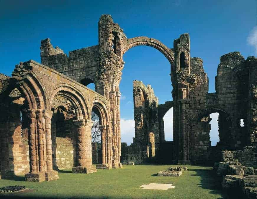 Lindisfarne Priory, Holy Island - Courtesy of Visit England