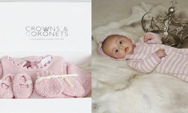 Lusury Baby Girls Gift Set Crowns & Coronets