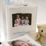 Personalised Fabric Baby Book, £24.50