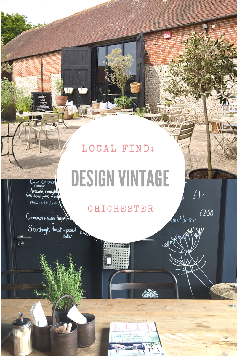 Design Vintage, near Chichester. Click through to read all about this great local find with great cafe and barn full of vintage and designer interiors to buy
