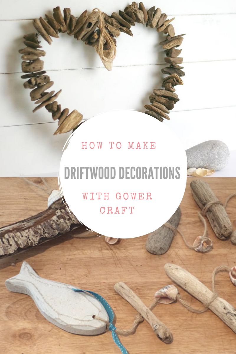 How to make driftwood decorations with Gower Crafts