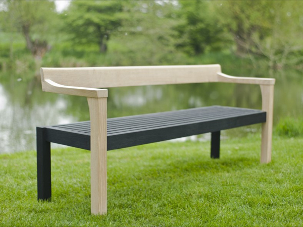 Sitting Spiritually Simon Thomas Pirie Contemporary Swing Seat And Floating Bench