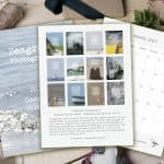 Have a coastal Christmas with Seagrass cards and calendar