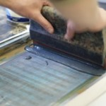 Learn how to screenprint a bag with Mr Wingate