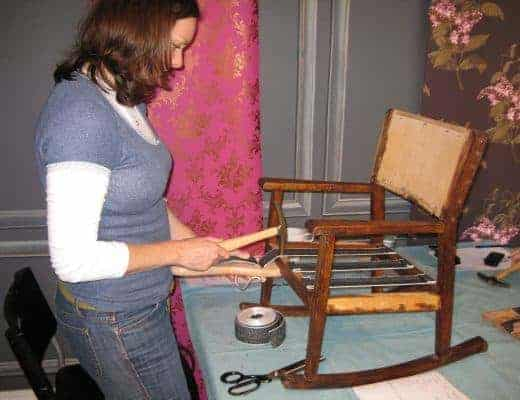 how to upholster a chair