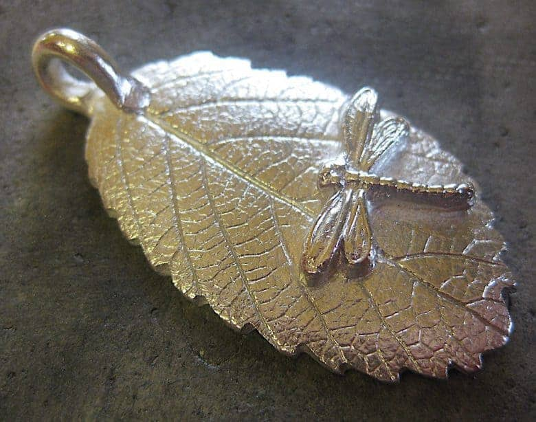 silver clay jewellery heated and brushed to reveal pure silver