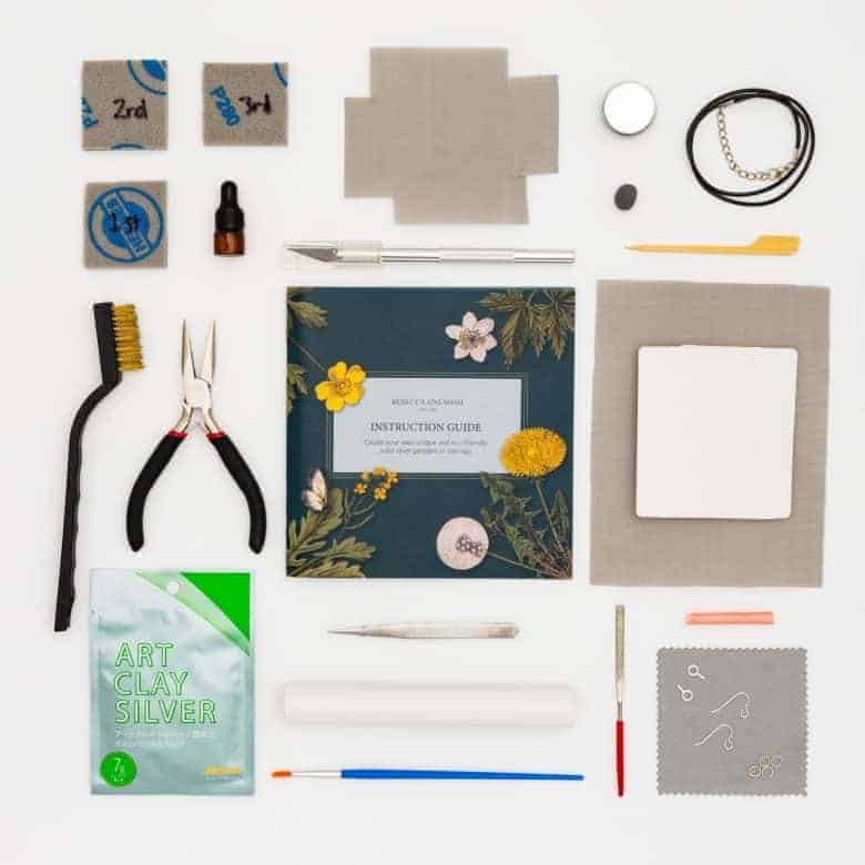 silver clay jewellery making kit rebecca oxenham on etsy - all you need to make your own silver clay jewellery #silverclay #jewellery #kit #diyy