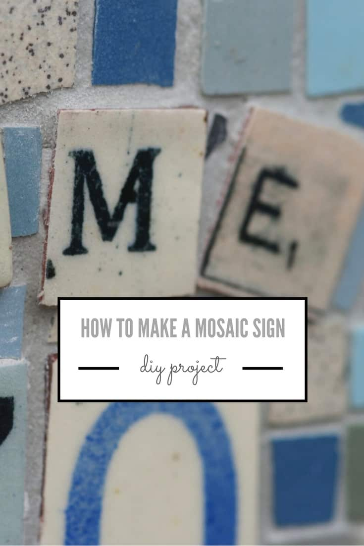 how to make mosaic