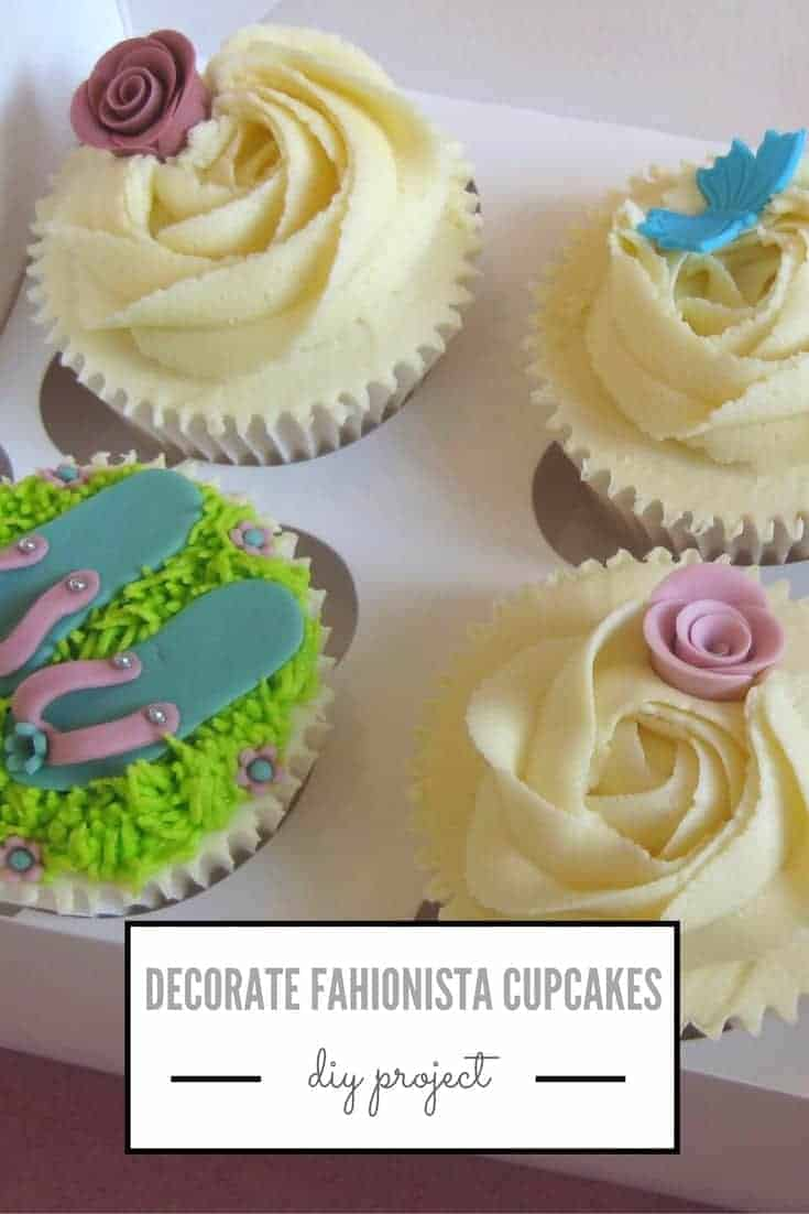 icing fashionista cupcakes