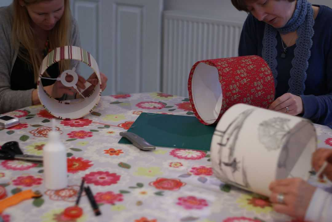 how to make a childs lampshade