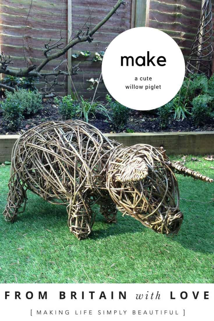 how to weave a willow piglet we show you how to make a woven willow pig