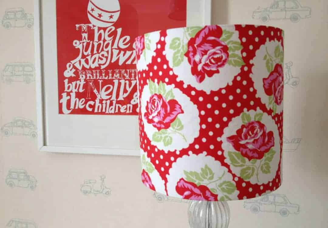 how to make drum lampshade