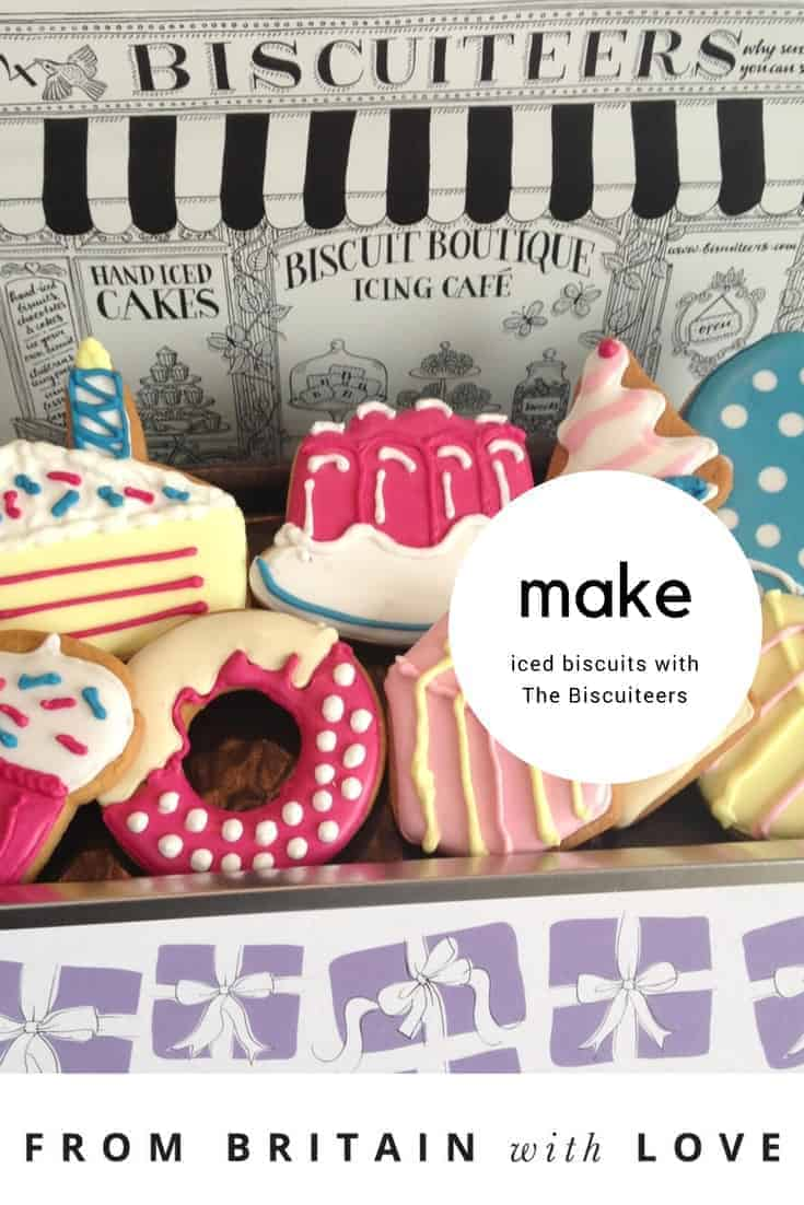 make the perfect iced biscuits with the biscuiteers