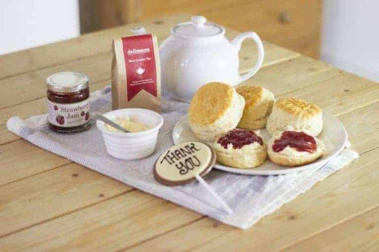 how to make devonshire scones for traditional english afternoon tea