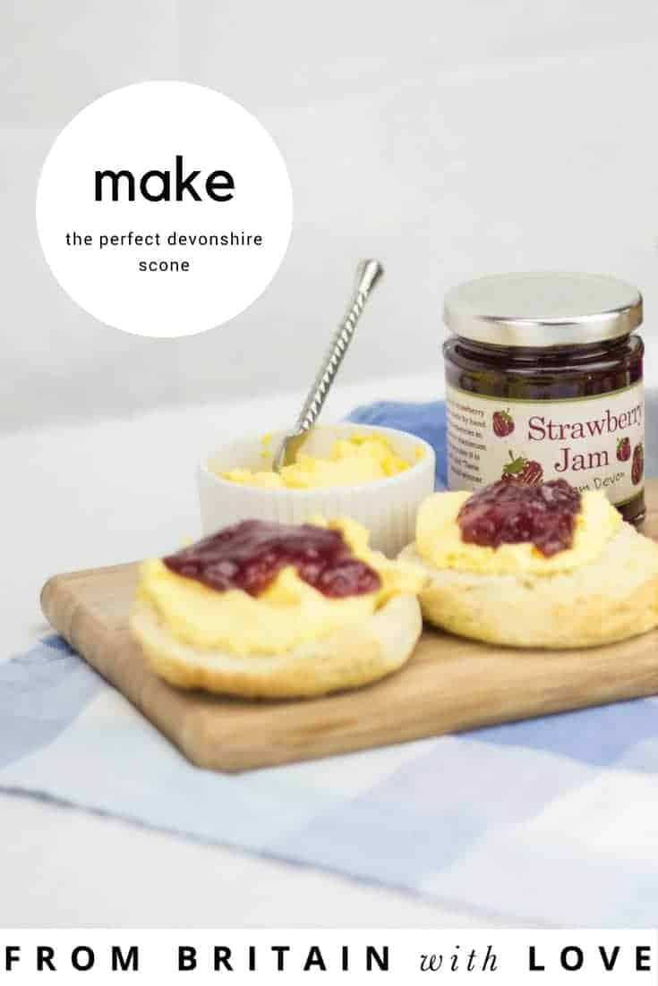 get the recipe to make the perfect devonshire scone and perfect english afternoon cream tea