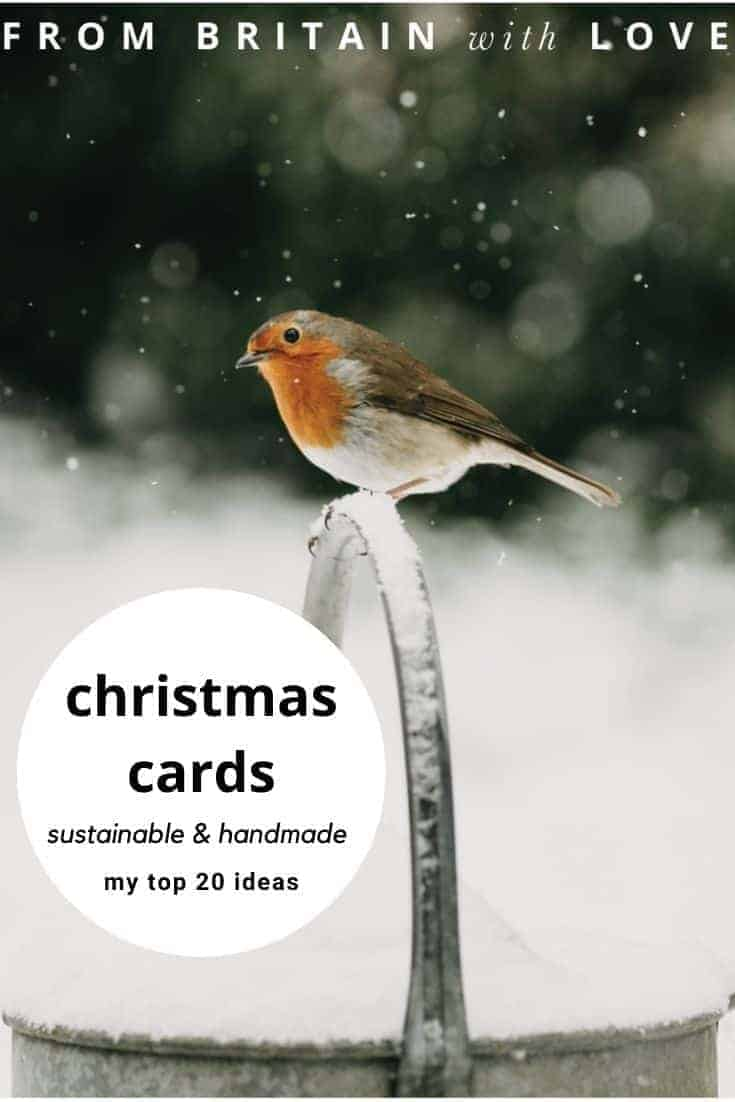 handmade christmas cards including this beautiful robin card taken from an original photo by eva nemeth. Find other beautiful card ideas all made by independent uk makers #handmade #christmas #cards #robin