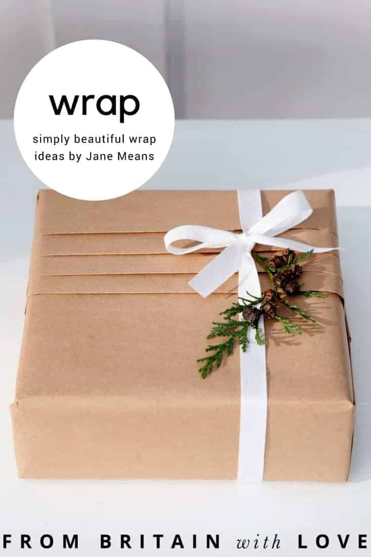 how to gift wrap like a pro with jane means. Beautiful and simple to do ideas for wrapping your christmas gifts beautifully