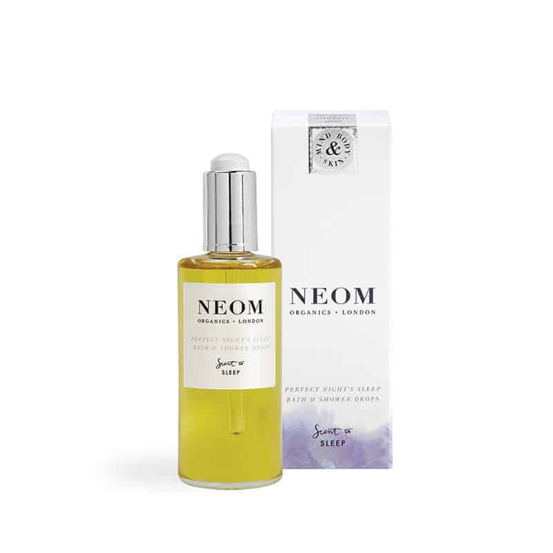 neom perfect nights sleep bath oil