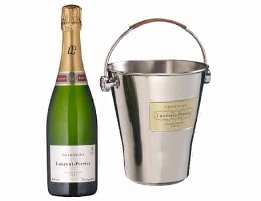 ice bucket and laurent perrier champagne john lewis
