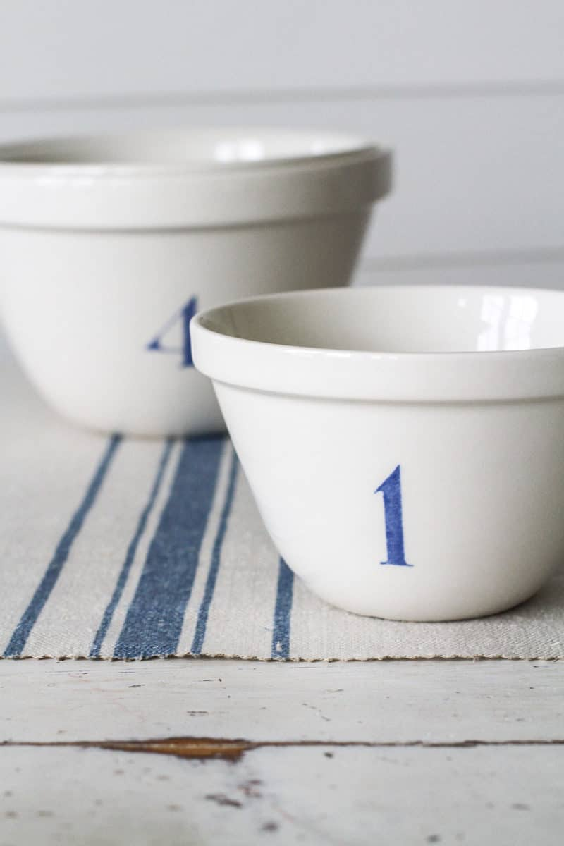 love this seaside inspired blue and white nautical linen stripe fabric by Peony & Sage. Click through for more details and for other coastal and seaside interiors ideas you'll love