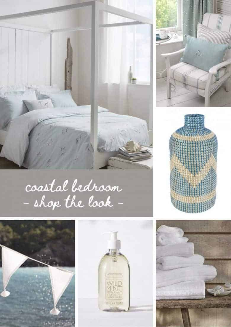 seaside interiors and coastal decoration ideas including these calm and restful coastal bedroom ideas with shop the looks to help you bring the seaside to your home