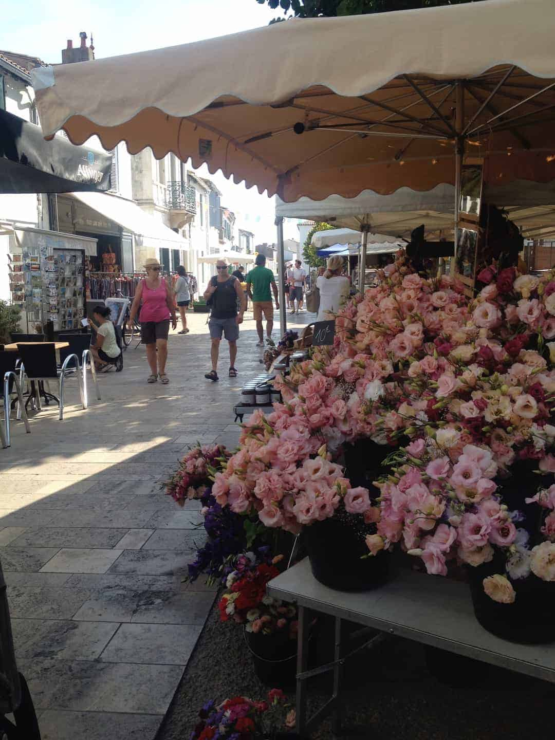 la couarde flower stall
