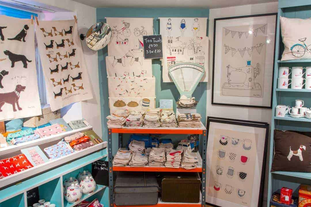 Poppy Treffry shop St Ives Cornwall