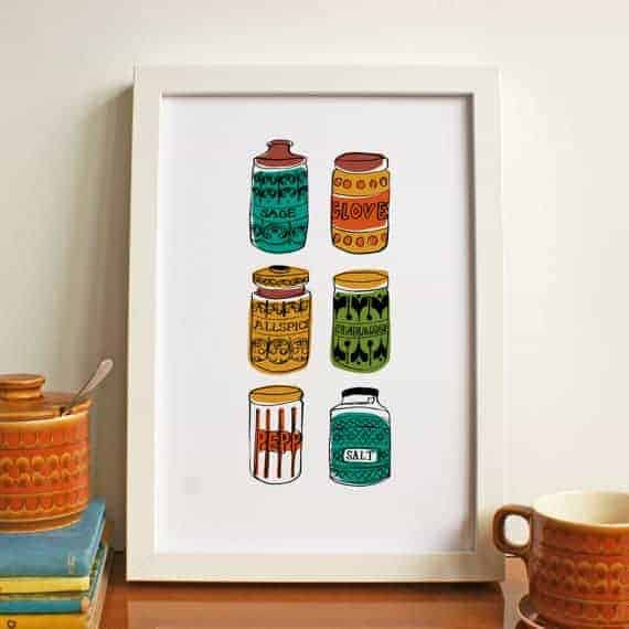 Lucy Wilkins retro prints