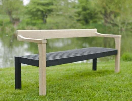 Floating Bench by Sitting Spiritually