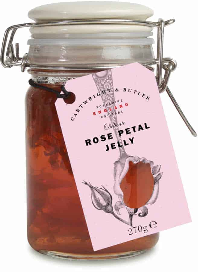 rose petal jelly jam cartwright and butler where to buy and artisan made with fresh rose petals and palm oil free