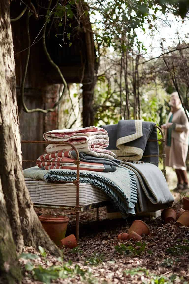 love these modern rustic throws and cushions by vanessa arbuthnott