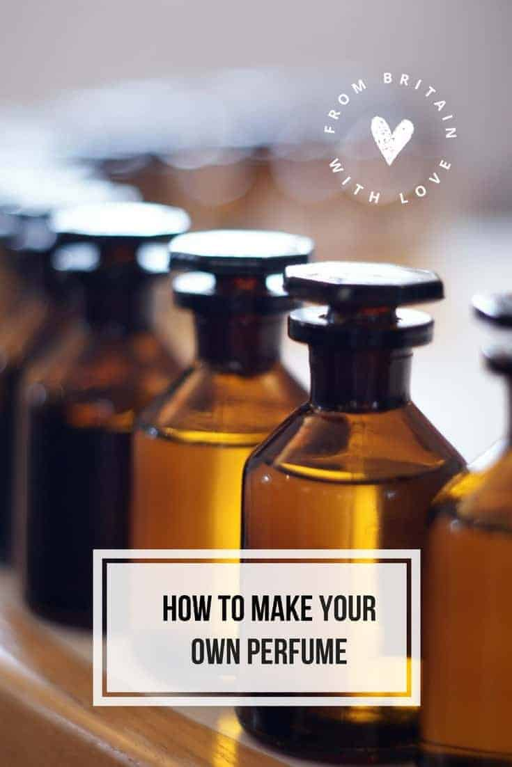 How to make your own perfume. Click through for easy step by steps with The Cotswold Perfumery and start creating your own scent and perfume
