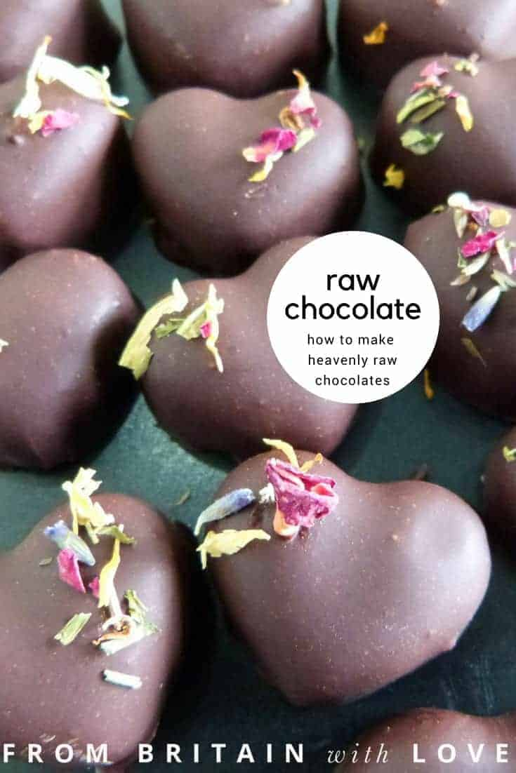 how to make raw chocolates. Click through for delicious and healthy ideas for making your own raw chocolates