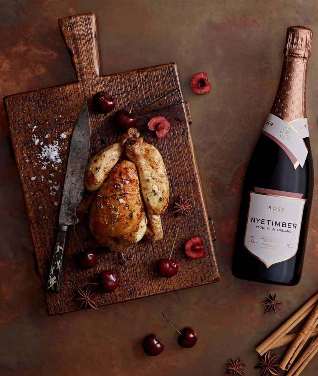 love this sparkling english wine by Nyetimber - perfect Christmas fizz