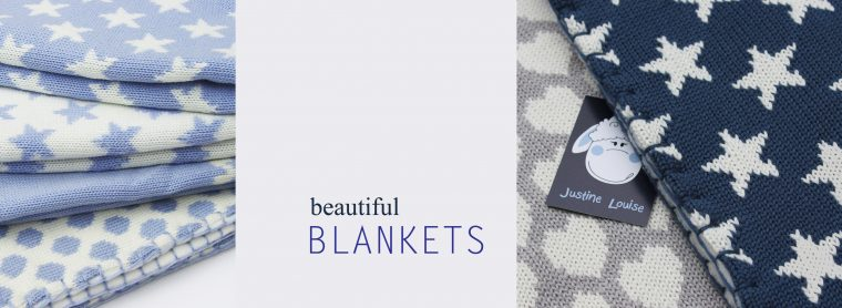 justine louise baby blankets