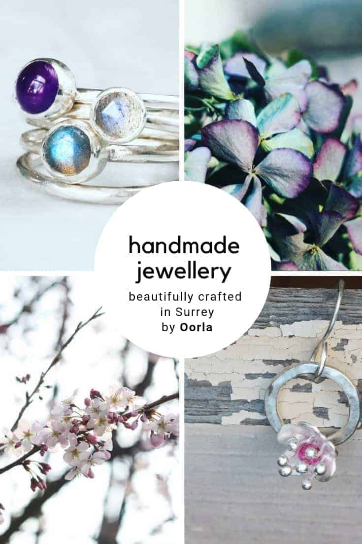 love this handmade contemporary silver and gemstone jewellery by Oorla Jewellery hand crafted in Surrey in simple, natural shapes. Click through to discover Oorla's collection of affordable, utterly beautiful and award-winning jewellery #handmade #jewellery #handcrafted #silver #gemstone #frombritainwithlove