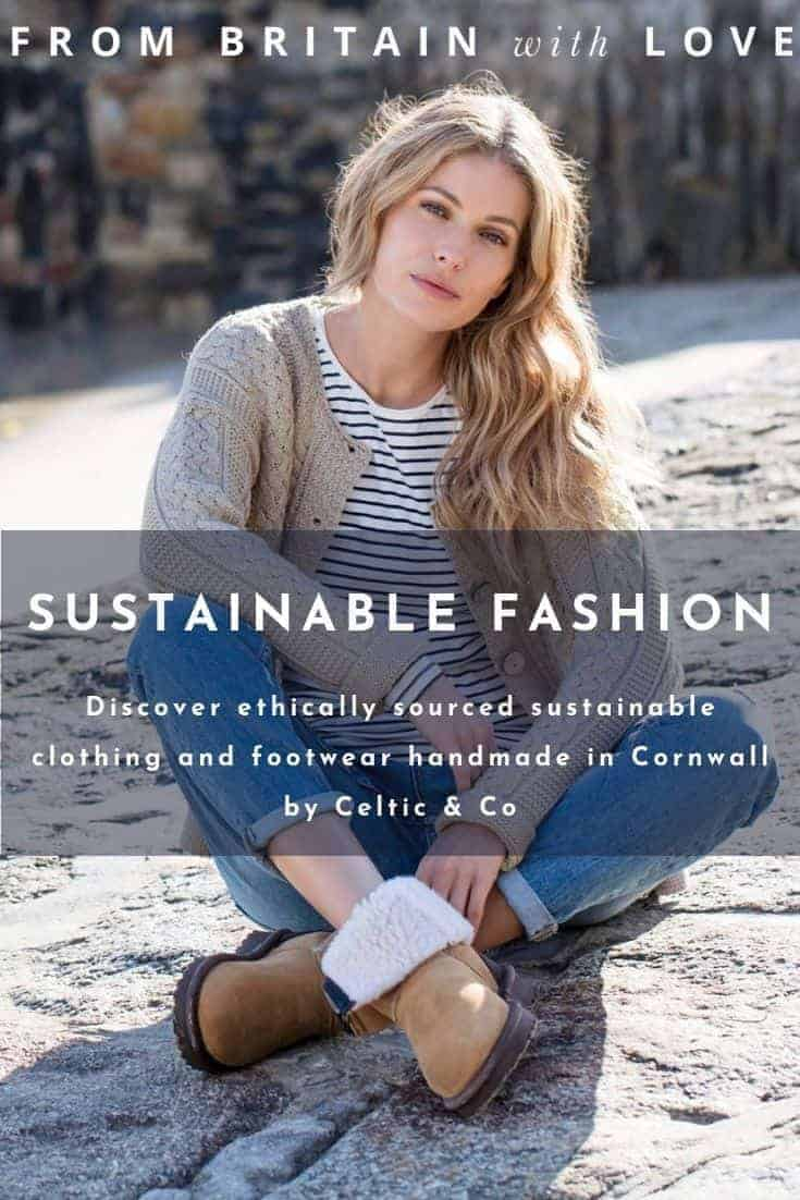 love celtic & co sustainable and ethically sourced clothing and footwear handmade in Cornwall - the home of British sheepskin and so much more. Click through to discover the whole beautifully wearable and long lasting collection #sheepskin #ethical #sustainable #fashion #footwear #madeinbritain #frombritainwithlove #celticandco