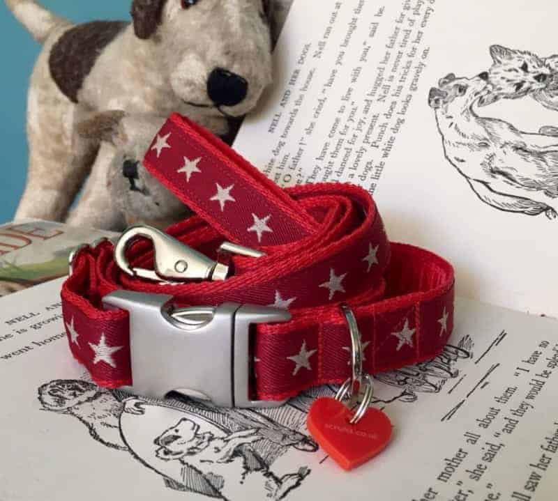 scrufts-red-star-dog-collar