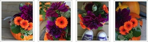 Autumn Flowers Course at The Sussex Flower School