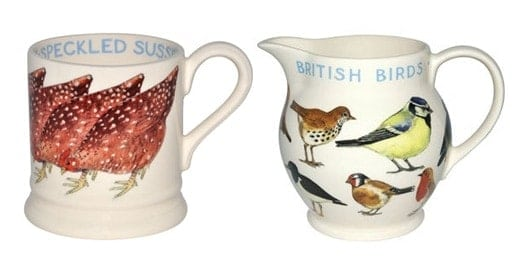 Emma Bridgewater Birds Mugs
