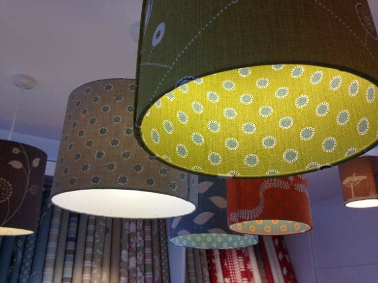 love these linen lampshades by vanessa arbuthnott