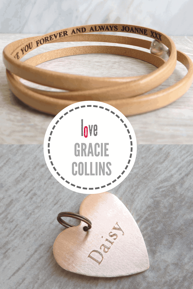 Gracie Collins hand engraved Jewellery