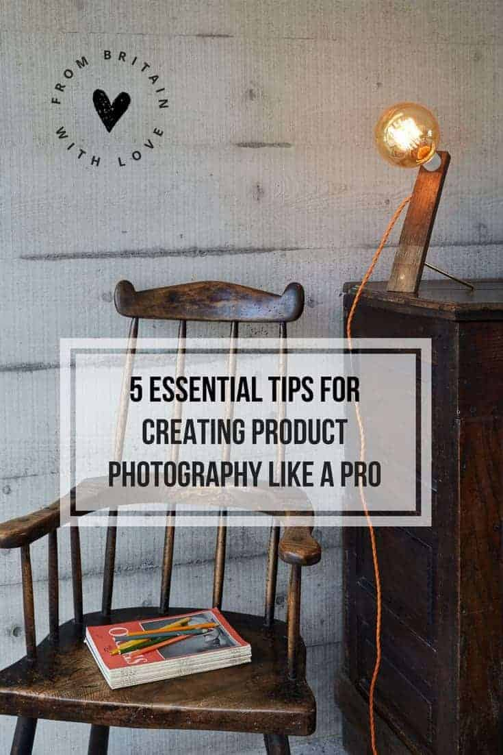 Click through to get our top 5 tips for creating product photography like a pro. Photographer Yeshen Venema shares his secrets for creating great product photography