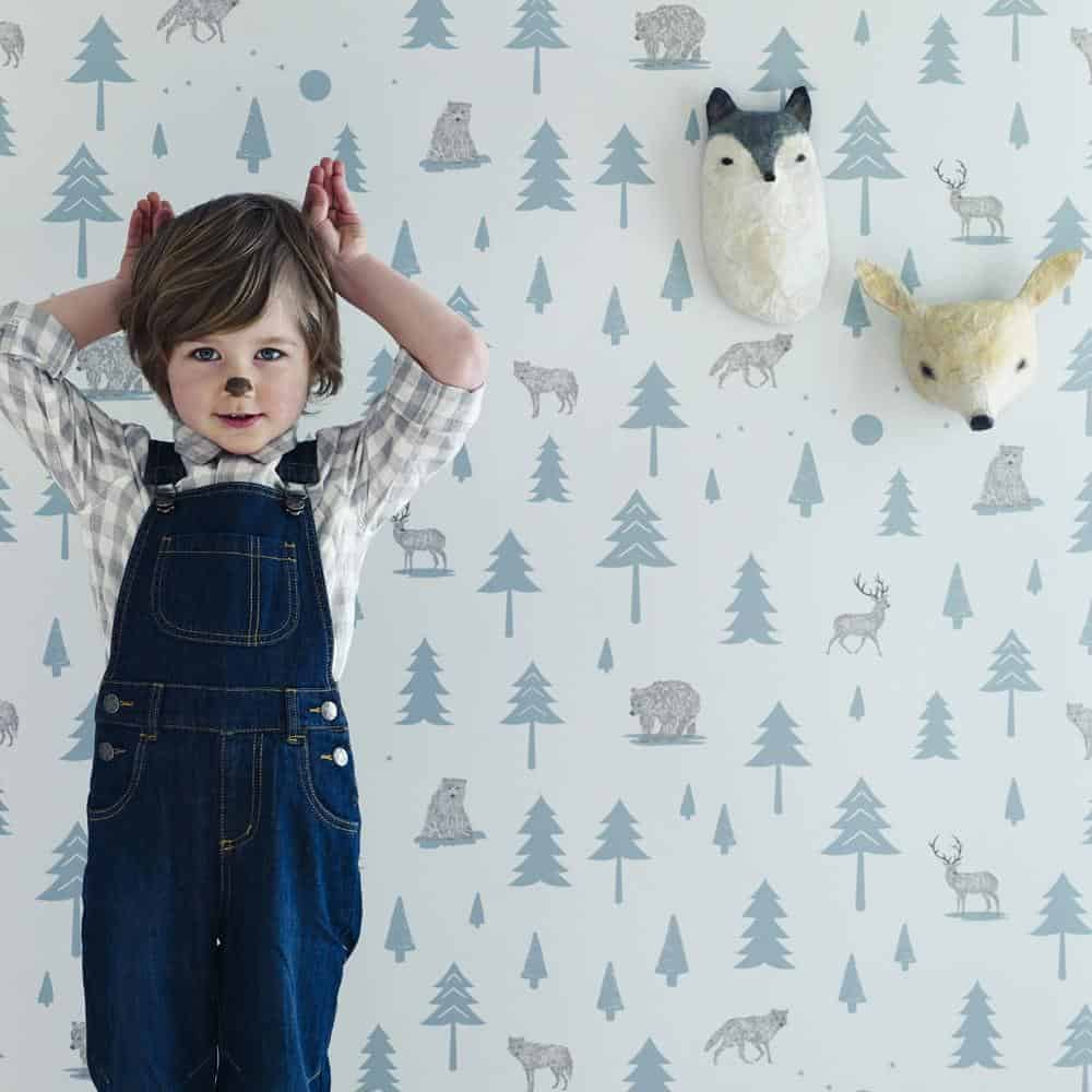 Hibou Home into the wild wallpaper. Click through for more inspiring finds in our directory of the best in British made