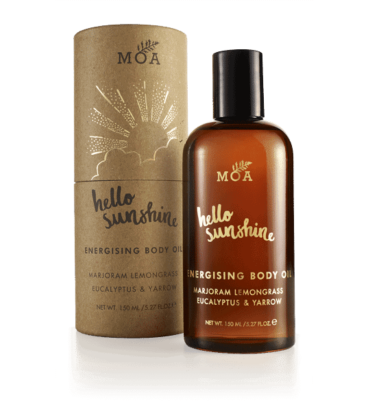 Hello Sunshine body oil by MOA London