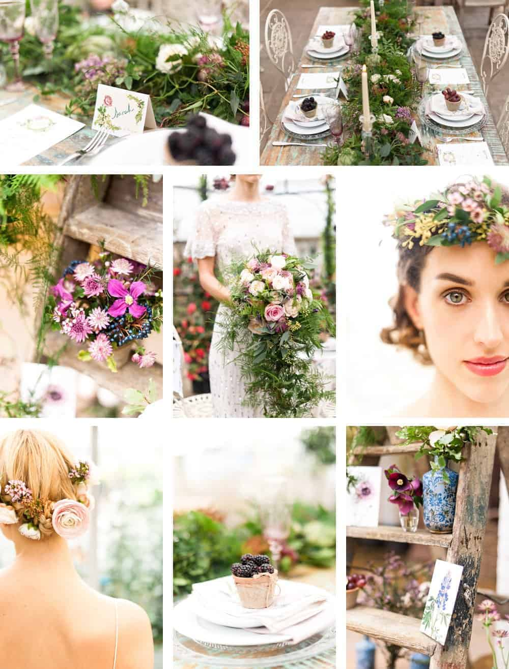 beautiful country botanical wedding flowers by Philippa Craddock at Clifton Nurseries. Click through for essential ideas and contacts for creating beautiful flowers for your own wedding
