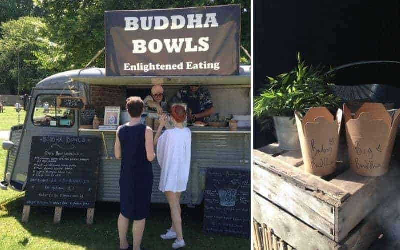 Buddha Bowls by Wholefood Heaven at Wilderness Festival