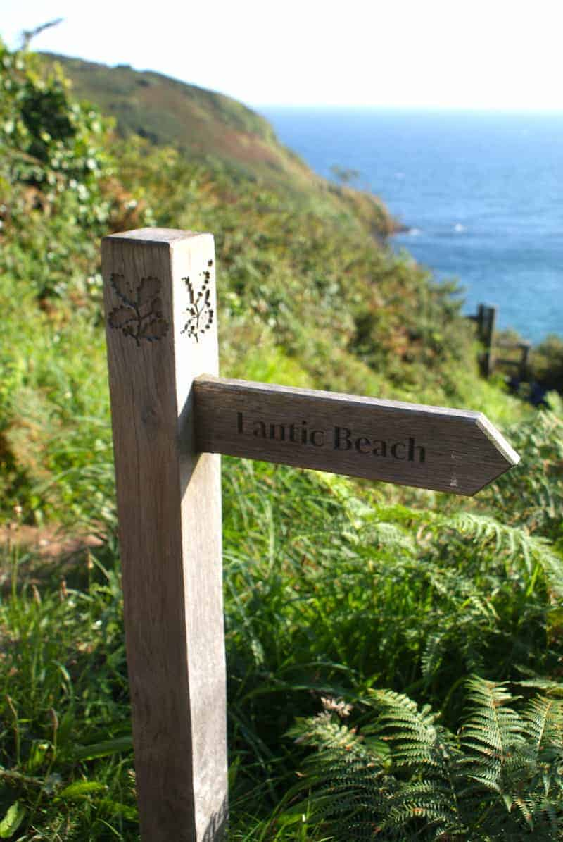 love Lantic Bay in Cornwall. Click through to discover the special places and local finds we share because we think you'll love them too