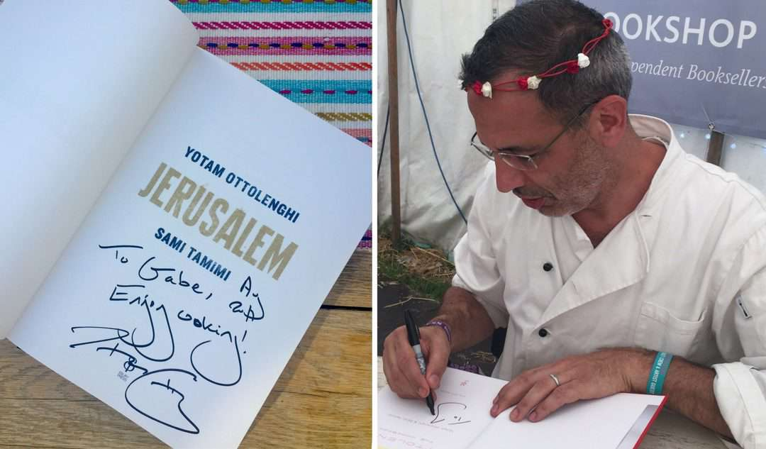 yotam ottolenghi at wilderness festival